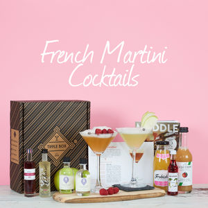 French Martini With A Twist Cocktail Set