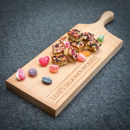 Personalised Wooden Long Serving Board