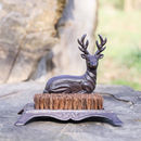 Deer Boot Scraper And Brush