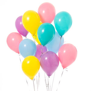Pack Of 14 Unicorn Party Balloons