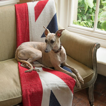 Union Jack Wool Blanket