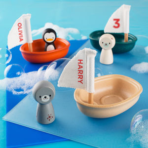 Personalised Sailing Boat Bath Toy - traditional toys & games