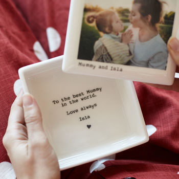 Mother and baby photo keepsake box