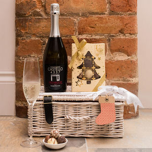 Christmas Prosecco And Chocolates Gift Set - champagne & prosecco