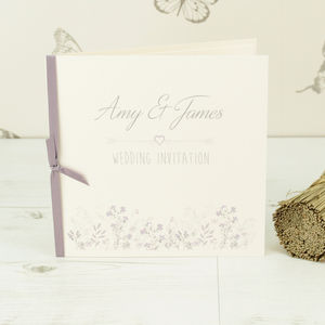 Emma Wedding Invitation - wedding stationery