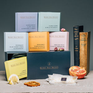 Mineral Bath Infusions Gift Collection - 60th birthday gifts