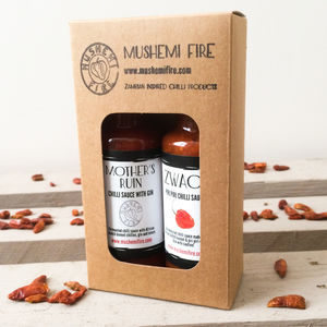 Very Hot Chilli Sauce Box - foodie gifts