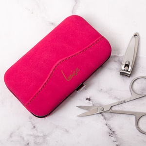 20% Off Personalised Ladies Pink Mini Manicure Kit