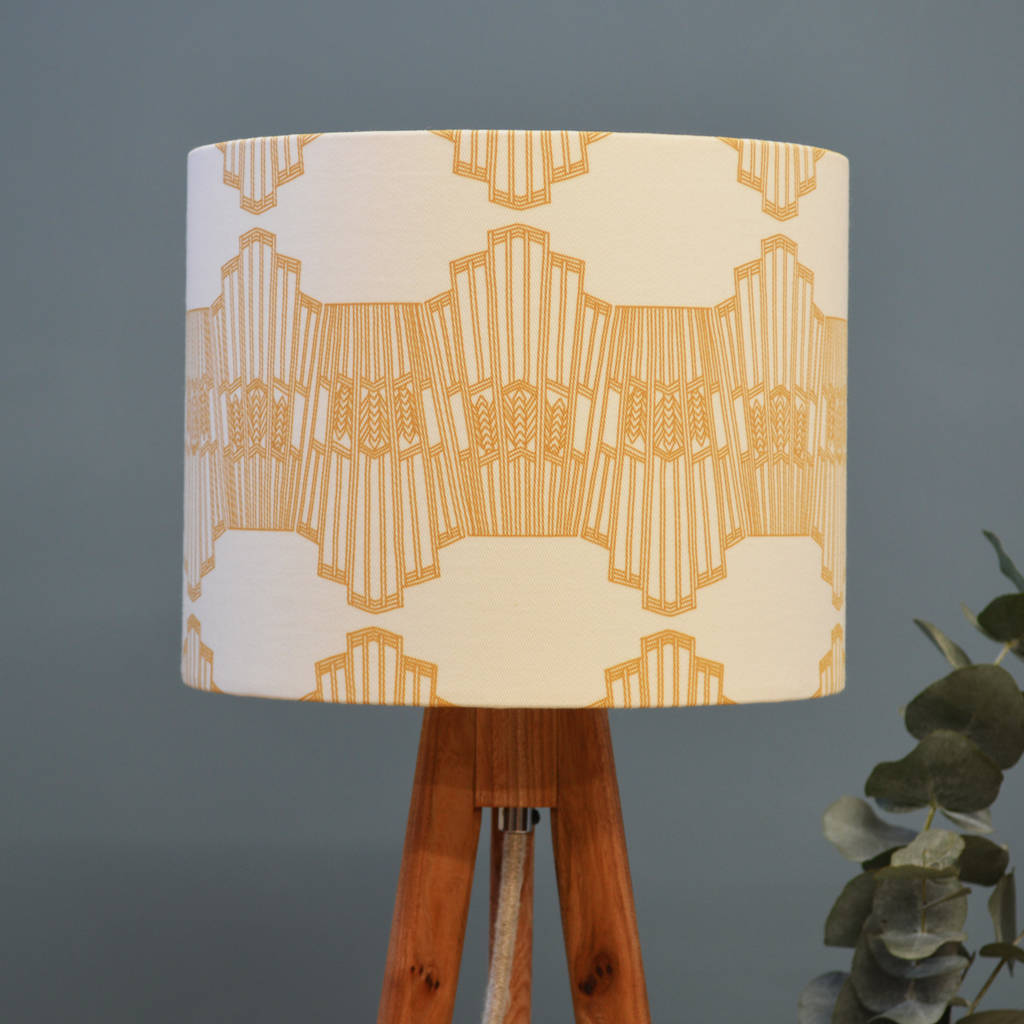 Ornamental Wave Lampshade