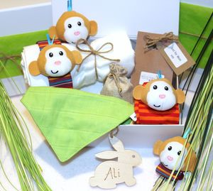 Cheeky Monkey Baby Gift Box - baby & child