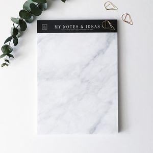 My Notes And Ideas | Marble Notepad