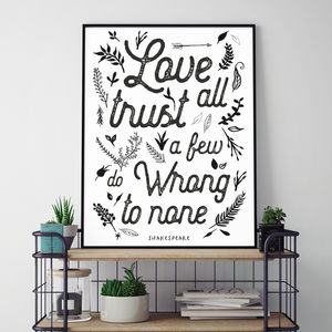Love All Lifestyle Print
