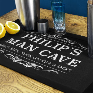 Man Cave Beer Mat - placemats & coasters