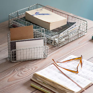 Camden Office And Desk Tidy Range - baskets