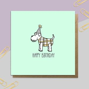 Birthday Hector Card - birthday cards