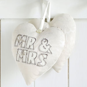 Personalised Mr And Mrs Heart - home accessories