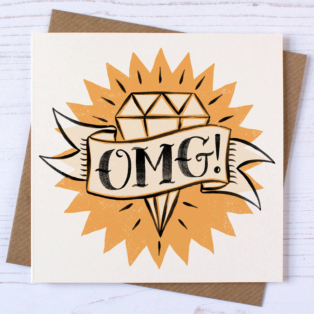 Tattoo Design Engagement Card