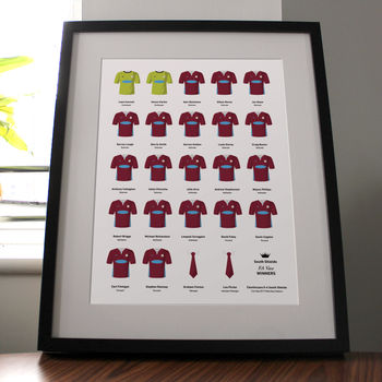 Personalised Amateur Football Team Kits Print