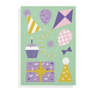 Celebration Greetings Card - birthday cards