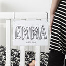 Personalised 'Bubble Name' Children Sign