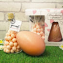 Strawberry And Prosecco Easter Egg Pack