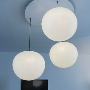 Polly Three Drop Suspension - ceiling lights