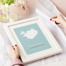 Personalised Treasured Location Print