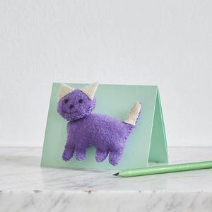 Childrens Sew A Felt Animal Mini Kit