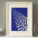 Bird's Flying Off Into The Distance Art Print