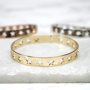Cut Out Star Cuff - bracelets & bangles