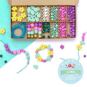 Personalised Fairy And Woodland Bracelet Making Kit - baby & child sale