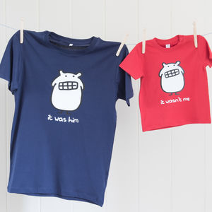 Father And Child T Shirt Set - outfits & sets