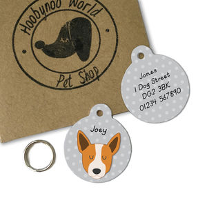 Australian Cattle Dog Personalised Dog ID Tag - dogs