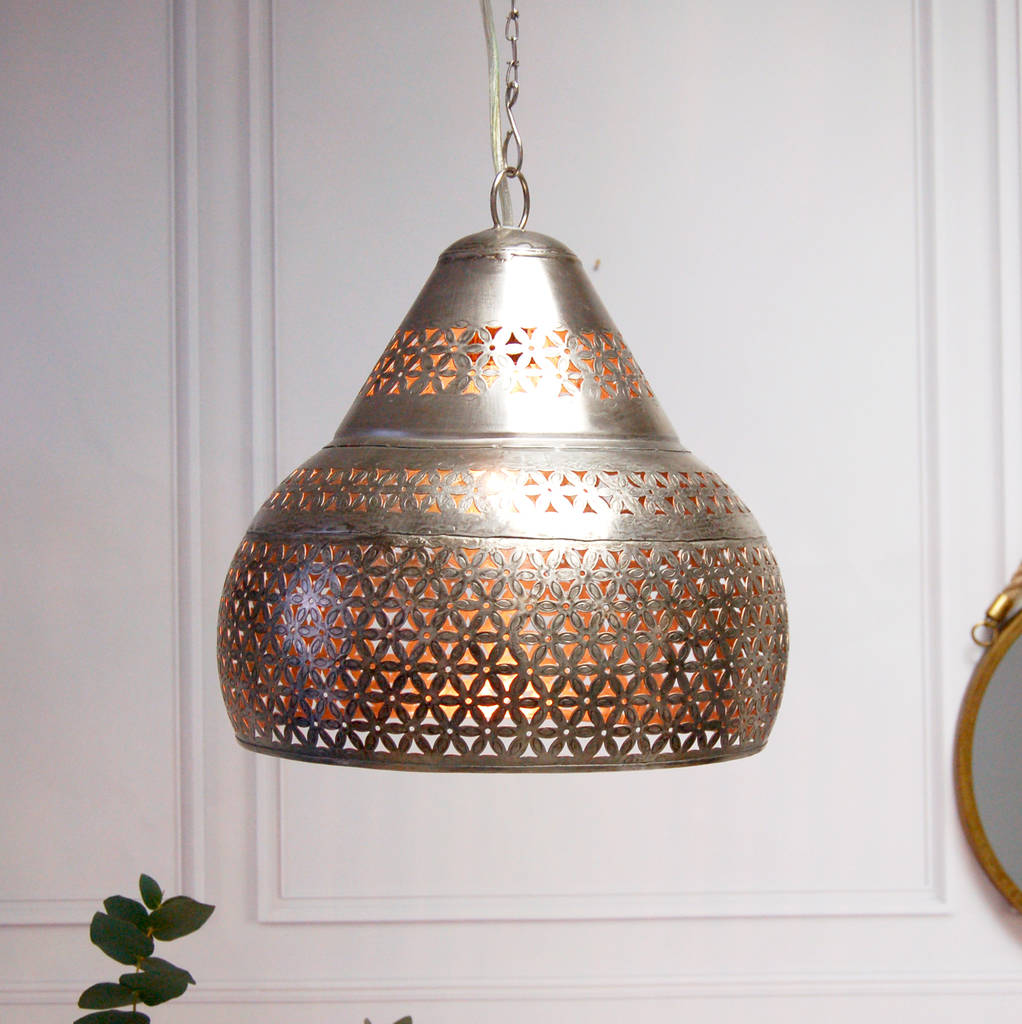 Moroccan marrakesh ceiling pendant light by made with love designs moroccan marrakesh ceiling pendant light aloadofball Gallery