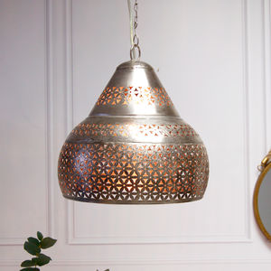 Moroccan Marrakesh Ceiling Pendant Light - statement lighting