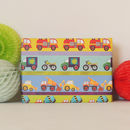 Transport Gift Wrap Two Sheets