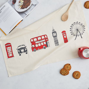 London Skyline Tea Towel - kitchen