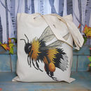 Bumble Bee Fairtrade + Organic Tote Bag