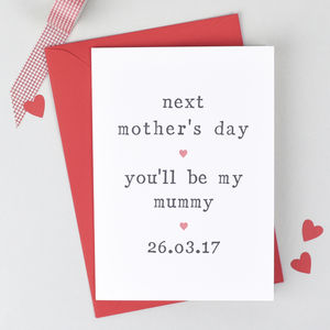 'Next Mother's Day' Mother's Day Card - summer sale