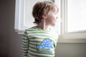 Personalised Dinosaur T Shirt