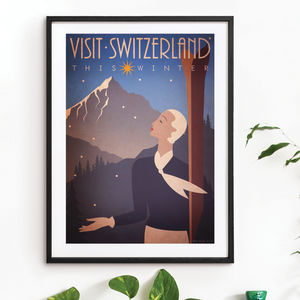 'Switzerland' Art Print