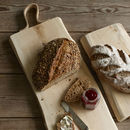 Leather Strap Bread Board