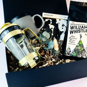 Cafetiere And Coffee Gift Box - teas, coffees & infusions