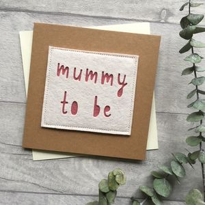 Mummy To Be Baby Shower Card - new baby cards