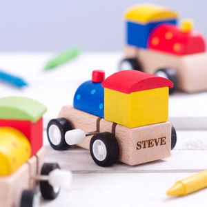 Personalised Wind Up Train Engine - personalised