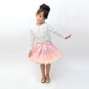 Angel's Face Pastel Posy Tutu - children's skirts