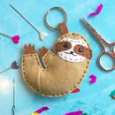 Sloth Felt Sewing Craft Kit