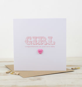 Little Button Greeting Card