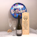 Personalised Birthday Prosecco Gift Set