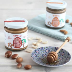 Nut Butter With Argan Oil Duo Gift Box - modern craft trend